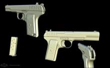 TT-33 Tokarev Pistol Model preview