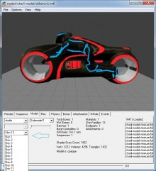 Tron Bike model 13 skin Model preview
