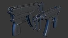 Vz61 Skorpion Model preview