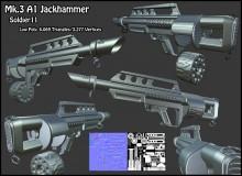 Pancor Mk.3 A1 Jackhammer Model preview