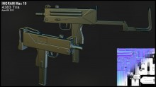 Ingram Mac10 Model preview