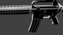 M16A2 Model preview