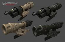Surefire M952V Weapon Light Model preview