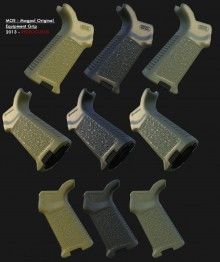 MOE - Magpul Original Equipment Grip Model preview