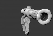 PSO1 Scope (hipoly included) Model screenshot