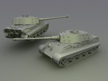 KING TIGER Model preview