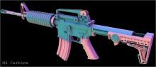 M4 Carbine COMPLETE Model screenshot #3
