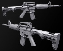 M4 Carbine COMPLETE Model screenshot #1
