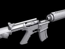 M4 Carbine COMPLETE Model screenshot #2