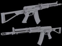 AEK-971 Model preview