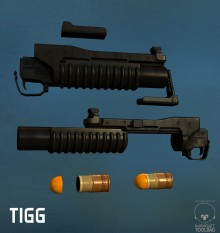 M203 Model preview