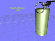 Smoke Grenade Model preview