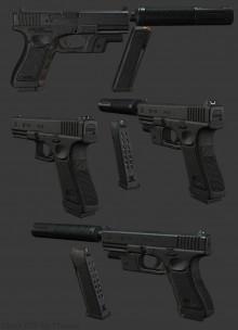 Glock P80 V2 Model preview