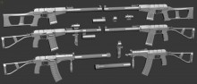 NEW VSS (Vintorez), AS (Val), SR3m(Vihr) Model preview