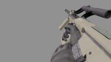 Sarv's AUG A1 Animation (completed) Model preview