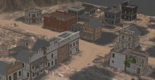 Western Village Model preview