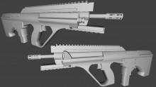 AUG A3 Para XS Model preview