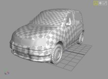 Fiat Panda Model preview