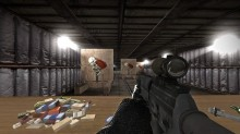 SG553 animations Model preview