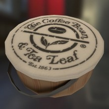 Coffee Beans & Tea Leaf Package Model preview
