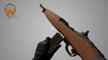 M1 Carbine Animations. Model preview