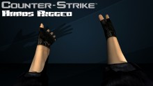 Counter Strike 1.6 - Hands Rigged Model preview