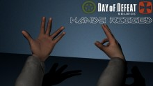 Day Of Defeat : Source - Hands Rigged Model preview