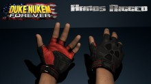Duke Nukem Forever - Hands Rigged Model preview