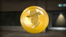 TF2 Saxton Hale Coin preview