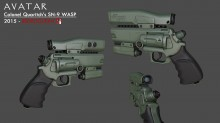 """SN-9 """"WASP"""" Revolver Model preview"""