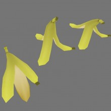 Banana Peel (3 Variations) Model preview