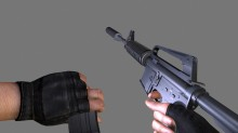 M4A1-S animation Model preview