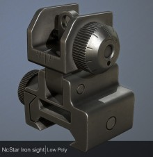 NcStar flip up sight Model preview