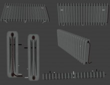 Radiator Gallery Modelpack Model preview