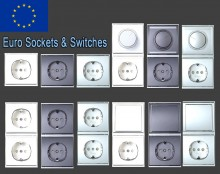 Euro Socked & Switches Modelpack Model preview