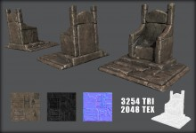 forgotten throne Model preview