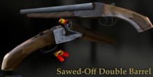 Sawed-Off Double Barrel Shotty Model preview
