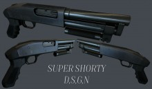 Super Shorty Textured Model preview