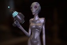 Chiary - Female Alien Character preview