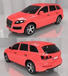 Oudi car model Model preview