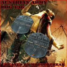 Austrian Army Dog Tag Model preview
