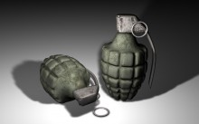 Re-Made Grenade Model preview