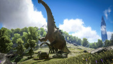 Ark Adds Dino Big Enough To Carry A Fortress, Also Poo Flinging Monkeys