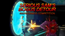 Serious Sam Bogus Detour Mod + Art Comp