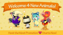 4 New Animals and Host the Most Promotion