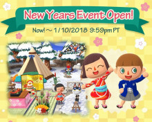 New Year's Countdown Event