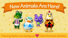 4 New Animals Come to Visit!