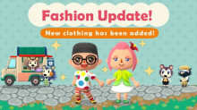 New Clothes, New Fish/Bugs, and Gulliver