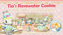 Tia's Rosewater Cookie & Leif's Flower Stand