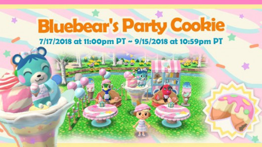 Bluebear's Party Cookie